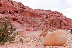 petra Иордана amphitheatre Стоковые Изображения RF
