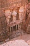 Petra - древний город Стоковая Фотография RF