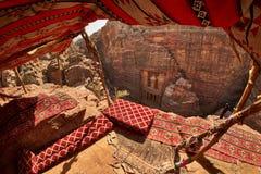 Petra сокровища сверху Стоковые Фото