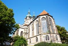 Petra церков Melnik и Pavla, чехия Стоковая Фотография
