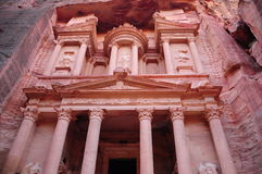 Petra. Ancient city in Jordan Stock Photo
