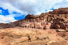 Petra坟茔  库存图片