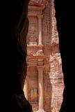 Petra στην Ιορδανία Στοκ φωτογραφία με δικαίωμα ελεύθερης χρήσης
