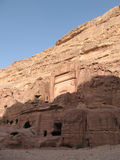 Petra. Amazing antique town in Jordan Royalty Free Stock Image