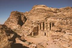 Petra - ancient city. Stock Photo