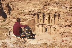 Petra - ancient city. Royalty Free Stock Image
