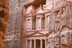 Petra - ancient city. Stock Image