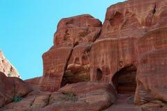 PETRA, archäologischer Park, Jordanien, Mittlere Osten Lizenzfreie Stockfotografie