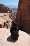 PETRA, archäologischer Park, Jordanien, Mittlere Osten Lizenzfreie Stockfotos