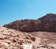 Petra, Archaeological Park, Jordan, Middle East Stock Image
