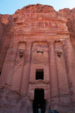 Petra, Archaeological Park, Jordan, Middle East Royalty Free Stock Photography