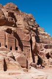Petra, Archeologiczny park, Jordania, Środkowy Wschód Zdjęcie Royalty Free