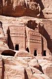 Petra, Archeologiczny park, Jordania, Środkowy Wschód Zdjęcia Royalty Free