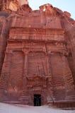 Petra, Archeologisch Park, Jordanië, Midden-Oosten stock fotografie