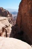 Petra, Archeologisch Park, Jordanië, Midden-Oosten Royalty-vrije Stock Foto's