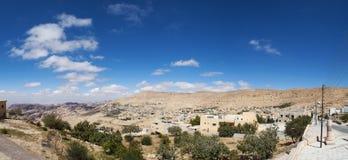Petra, Archeologisch Park, Jordanië, Midden-Oosten stock foto's