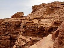petra canyon Fotografie Stock Libere da Diritti