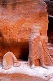 PETRA, cidade perdida da rocha de Jordão Imagens de Stock