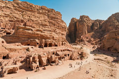 Petra City in Jordan. Ancient Petra City in Jordan Stock Image