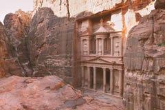 Petra - ciudad antigua Imagen de archivo