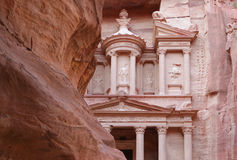 Petra - ciudad antigua Fotos de archivo