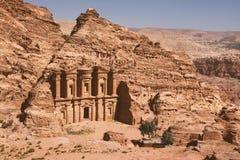 Petra - ciudad antigua Foto de archivo