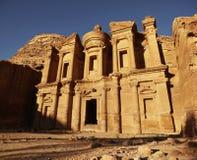 Petra - ciudad antigua Fotos de archivo libres de regalías