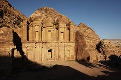 Petra - ciudad antigua Imágenes de archivo libres de regalías