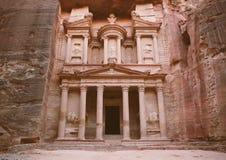 Petra - ciudad antigua Imagen de archivo libre de regalías