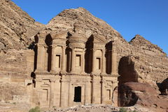 Petra, Dair royalty free stock photos