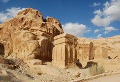 PETRA de la Jordanie photos libres de droits