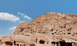 PETRA de la Jordanie photo libre de droits