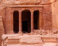 PETRA de Nabatean, Jordão Fotos de Stock Royalty Free