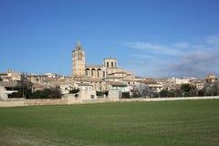 PETRA della città storica sull'isola di Maiorca, Spagna Fotografia Stock Libera da Diritti