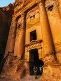 Petra at Dusk Stock Image