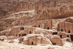 Petra, Jordanië Royalty-vrije Stock Afbeelding