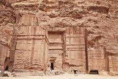 Petra, Jordanië Stock Foto's