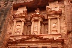 Petra - El Hacienda Imagen de archivo libre de regalías