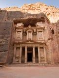 PETRA em Jordão Imagem de Stock