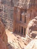 PETRA em Jordão Imagens de Stock Royalty Free
