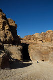 Petra en Jordania imagenes de archivo