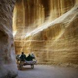 PETRA en Jordanie Photo libre de droits