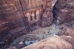 PETRA en Jordanie image stock