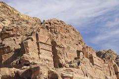 petra för olors för ökenjordan kloster Arkivbilder