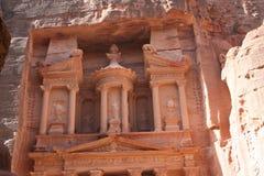 petra giordania строба Стоковая Фотография