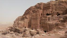 Petra-gravvalv arkivfoton