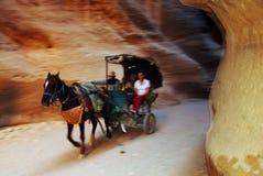 Petra in the Hashemite Kingdom of Jordan Stock Photos