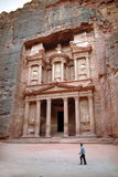 Petra in the Hashemite Kingdom of Jordan Royalty Free Stock Photography