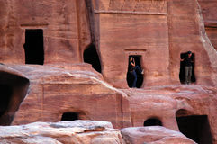 Petra in the Hashemite Kingdom of Jordan Royalty Free Stock Photos