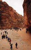 PETRA, Iordania photos stock